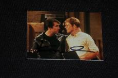 "Henry Winkler 1998 Duocards Happy Days Signed Autographed Card #1 ""the Fonz"
