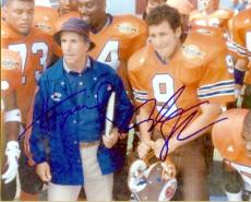 Henry Winkler and Adam Sandler autographed 8x10 Photo (The Waterboy)
