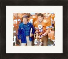 Henry Winkler and Adam Sandler autographed 8x10 Photo (The Waterboy) Matted & Framed
