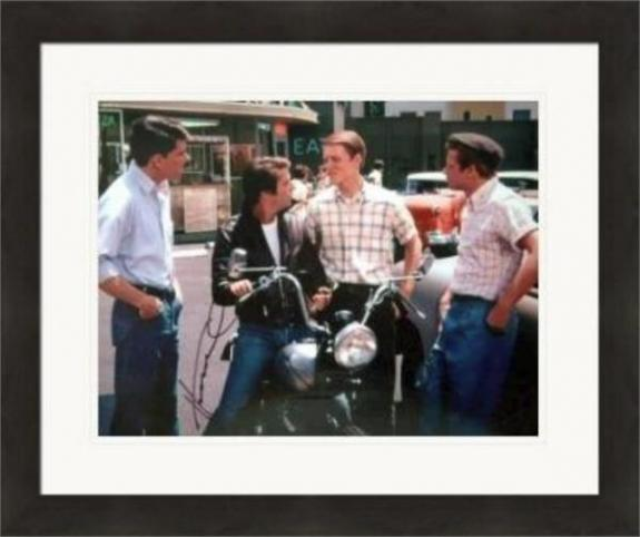 Henry Winkler autographed 8x10 photo (Happy Days The Fonze) #SC7 Matted & Framed
