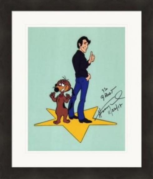 Henry Winkler autographed 8x10 Photo (The Fonze, Happy Days) #SC15 Matted & Framed