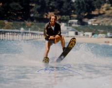 Henry Winkler Autographed Happy Days 16x20 The Fonz On Water Skis Photo-JSA Auth