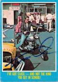 Henry Winkler autographed trading card (Happy Days the Fonze) 1976 Topps #34
