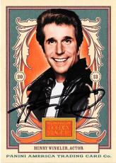 Henry Winkler autographed trading card (Happy Days The Fonze) 2013 Golden Age #85