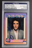 Henry Winkler 'Fonz' 1991 Hollywood Hall of Fame Autographed Signed Card PSA