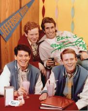 HENRY WINKLER HAND SIGNED 8x10 PHOTO+COA     FONZ     HAPPY DAYS    TO BRIAN