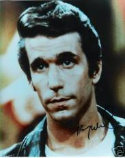 "HENRY WINKLER ""HAPPY DAYS"" Fonz Autographed Photo Color"