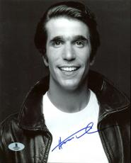 Henry Winkler Happy Days Signed 8X10 Photo Autographed BAS #B13053