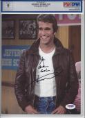 HENRY WINKLER HAPPY DAYS SIGNED 8x10 PHOTO PSA/DNA Autograph Grade 9 S07826 Insc