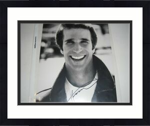 Henry Winkler Happy Days The Fonz,cool #4 W/coa Signed 8x10 Photo