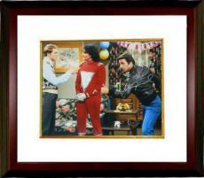 Henry Winkler signed 16x20 Photo Custom Framed Happy Days w/Robin Williams & Ron Howard (Fonzie/The Fonz)