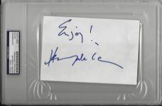 "Henry Winkler Signed 4""x6"" Card Happy Days Psa/dna Encapsulated 83812244"