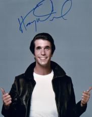 Henry Winkler Signed Autographed 8x10 Photo The Fonz Happy Days COA VD