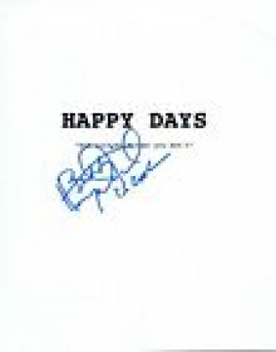 Henry Winkler Signed Autographed HAPPY DAYS Pilot Episode Script Cover VD