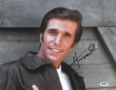 Henry Winkler Signed Happy Days Authentic Autographed 11x14 Photo PSA/DNA#V31718
