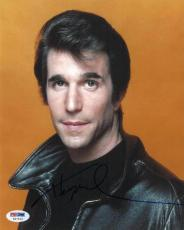 Henry Winkler Signed Happy Days Authentic Autographed 8x10 Photo PSA/DNA #H27533