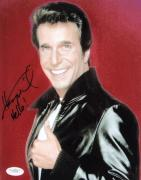 Henry Winkler Signed HAPPY DAYS FONZIE 8x10 Photo JSA