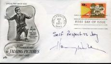 Henry Winkler Signed Jsa Cert Sticker Fdc Authentic Autograph