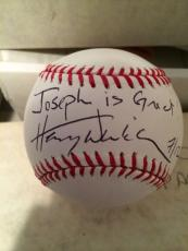 "Henry Winkler 'the Fonz"" Signed Autographed Official Major League Baseball"