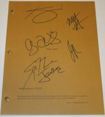HER Autographed Script by Joaquin Phoenix, Kristen Wiig, Amy Adams, Spike Jonze, and Matt Letscher