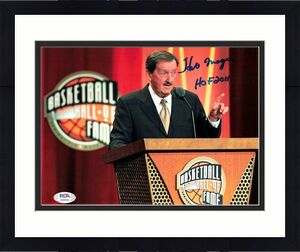Herb Magee signed 8x10 photo PSA/DNA Thomas Jefferson Autographed Shot Doctor