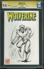 Herb Trimpe Signed Wolverine #1 Comic Book w/ Hand Drawn Sketch! CGC Graded 9.8