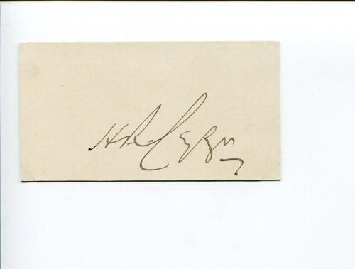 Herbert Cayzer Baron Rotherwick Shipping Magnate MP Portsmouth Signed Autograph