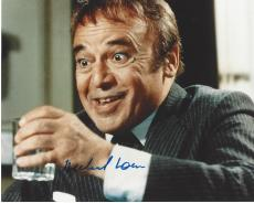 "HERBERT LOM as INSPECTOR DREYFUS in 1993 Movie ""SON of the PINK PANTHER"" (Passed Away 2012) Signed 10x8 Color Photo"