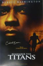 Herman Boone Autographed T.c Williams Remember The Titans 11x17 Photo 10593