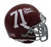 Herman Boone Autographed/Signed T.C. Williams Mini Helmet JSA 21547