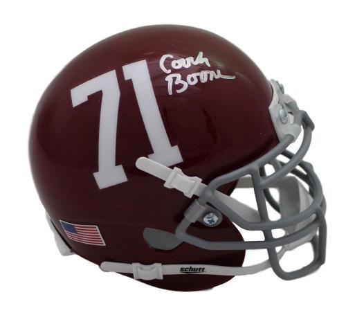 Herman Boone Autographed Remember the Titans T.C. Williams Mini Helmet JSA 21547