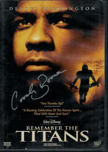Herman Boone Autographed/signed T.c Williams Remember The Titans Dvd 15029