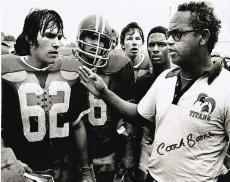 """HERMAN BOONE  """"REMEMBER THE TITANS""""   T.C. WILLIAMS HIGH SCHOOL   SIGNED 8x10"""