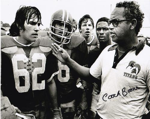 "HERMAN BOONE  ""REMEMBER THE TITANS""   T.C. WILLIAMS HIGH SCHOOL   SIGNED 8x10"