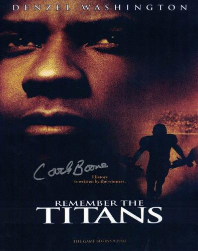 Herman Boone Signed Remember the Titans 8x10 Photo TC Williams High School 10592