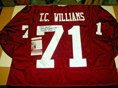 Herman Boone,bill Yoast Remember The Titans,71 Champs Jsa/coa Signed Jersey