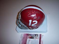 Herman Boone,bill Yoast Remember The Titans,71 Champs Jsa/coa Signed Mini Helmet