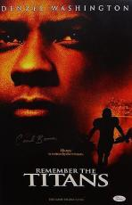 Herman Coach Boone Autographed 11x14 Remember The Titans Movie Poster- JSA Auth