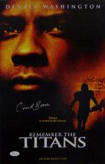 Herman Coach Boone Autographed 11x17 Remember The Titans Movie Poster- JSA Auth