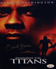 Herman Coach Boone Autographed 8x10 Remember The Titans Movie Poster- JSA W Auth