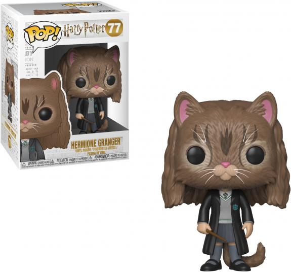 Hermione as Cat Harry Potter #77 Funko Pop! Figurine