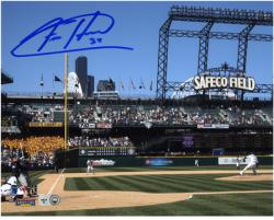 "Felix Hernandez Seattle Mariners Autographed 8"" x 10"" Pitching Photograph"