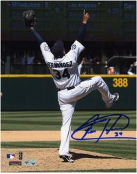 "Felix Hernandez Seattle Mariners Autographed 8"" x 10"" Perfect Game Photograph"