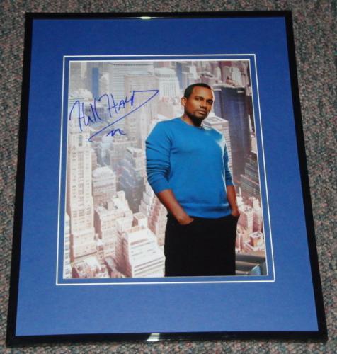 Hill Harper Signed Framed 8x10 Photo CSI:NY