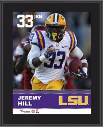 "Jeremy Hill LSU Tigers Sublimated 10.5"" x 13"" Plaque"