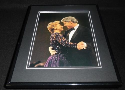 Hillary & Bill Clinton Dancing at 1993 Inauguration Framed 11x14 Photo Display
