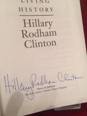 Hillary Clinton signed