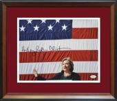 Hillary Clinton Signed Photo. Full Name Signature. JSA