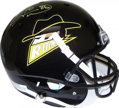 Hines Ward Autographed Batman Gotham Rogues F/S Helmet JSA Pittsburgh Steelers