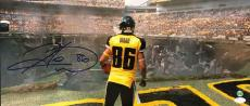 "Hines Ward Signed 10""x23"" Panoramic Photo from Batman: The Dark Knight Rises"